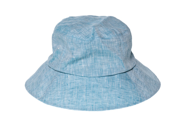 Classic Bucket Hat in Aqua / White Melange - CLYDE