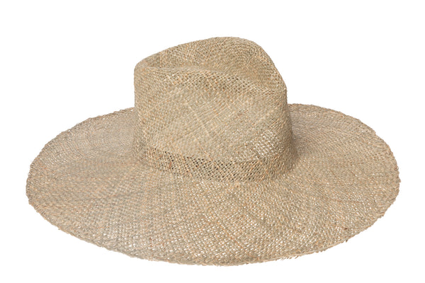 Pinch Panama Hat in Seagrass - CLYDE