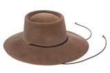 Gaucho Hat in Gobo Suede - CLYDE