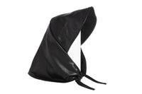 Lambskin Bonnet in Black - CLYDE