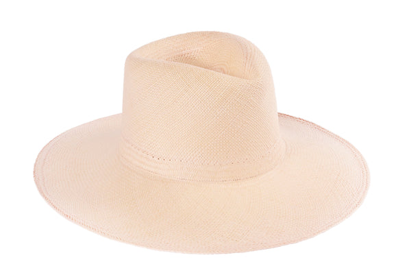 Pinch Panama Hat in Peony - CLYDE