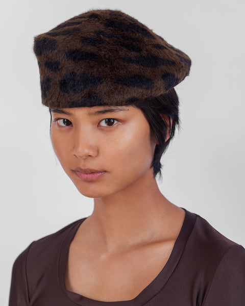 Sazy Hat in Bengal Print Long Hair - CLYDE