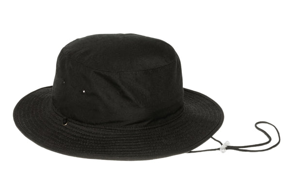 Wide Brim Pinch Hat w. Pin in Seagrass - CLYDE