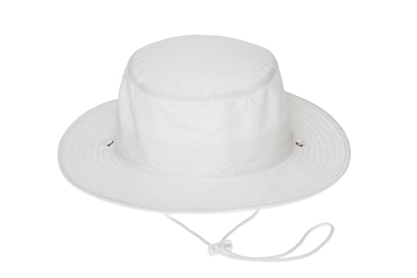 Trail Hat in Optic White - CLYDE