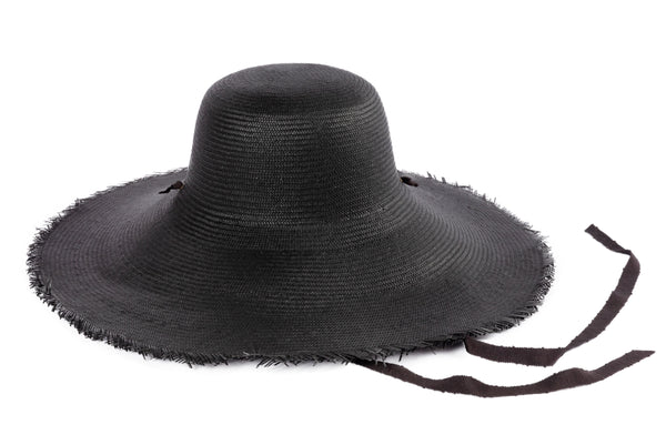 Oceanic Hat in Black