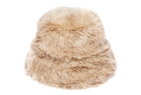 Fur Bucket Hat in New Ecru - CLYDE