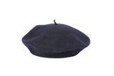 Rohmer Beret in Navy Wool - CLYDE