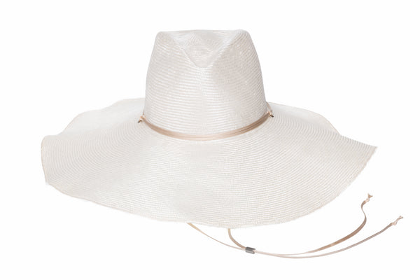 Poppy Hat in Ivory - CLYDE