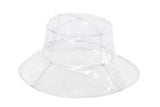 Bucket Hat in Clear Vinyl - CLYDE