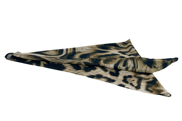 Chiffon Scarf in Virtual Cheetah - CLYDE