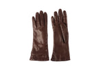 Lambskin Gloves in Espresso - CLYDE