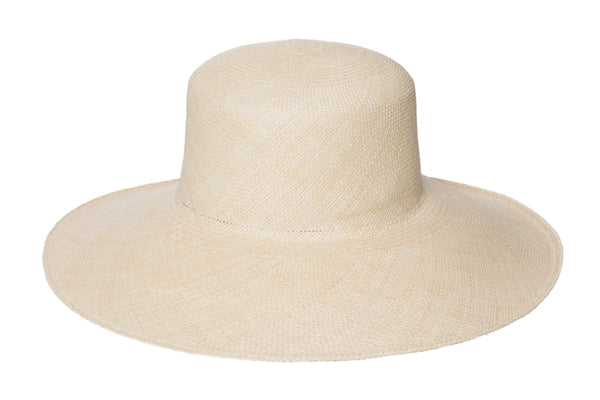 Pearl Hat in Undyed Natural - CLYDE
