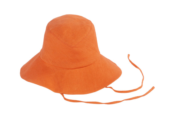 Fisherman Hat in Melon Red