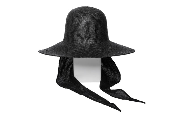 Koh Hat in Black w. Neck Shade - CLYDE