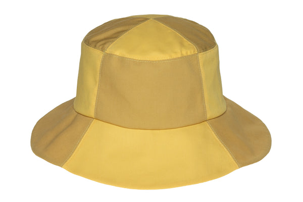 2 Tone Bucket Hat in Sorbet and Sand - CLYDE