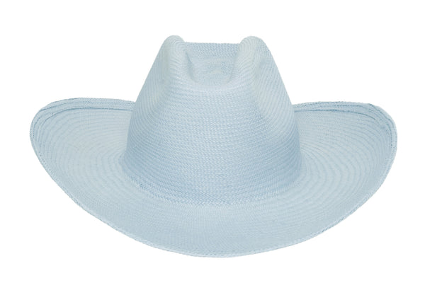 Cowboy Hat in Cielo Panama Straw - CLYDE