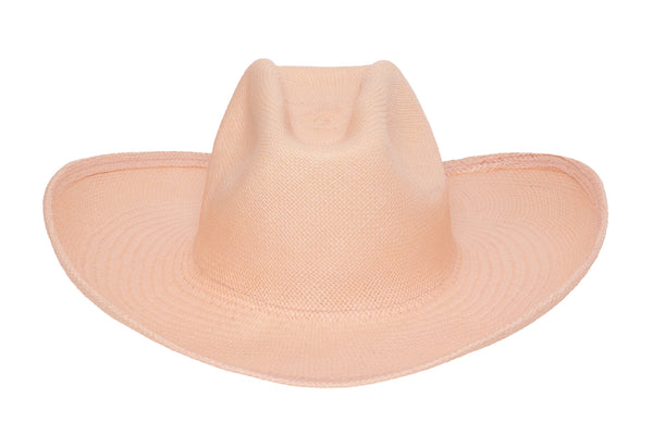 Cowboy Hat in Petal Panama Straw - CLYDE