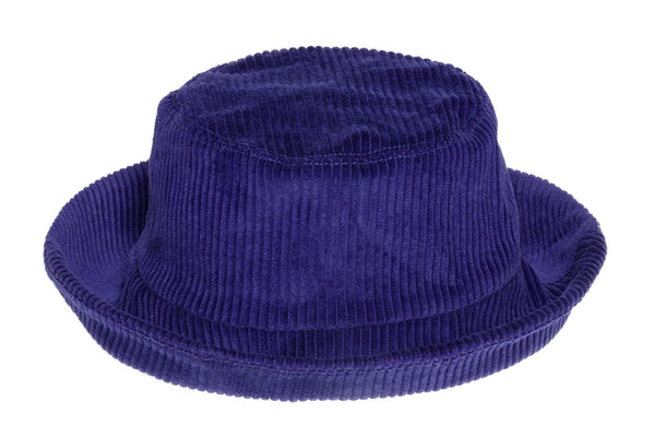 Corduroy Ebi Bucket Hat in Purple Rain - CLYDE