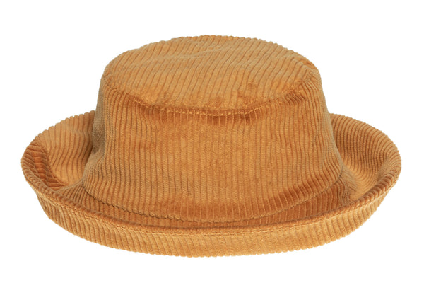 Corduroy Ebi Bucket Hat in Amber - CLYDE