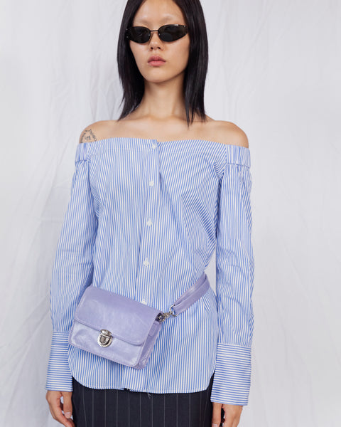 Delta Waist Bag in Lilac