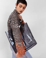 Lucid Tote in Black Gingham - CLYDE