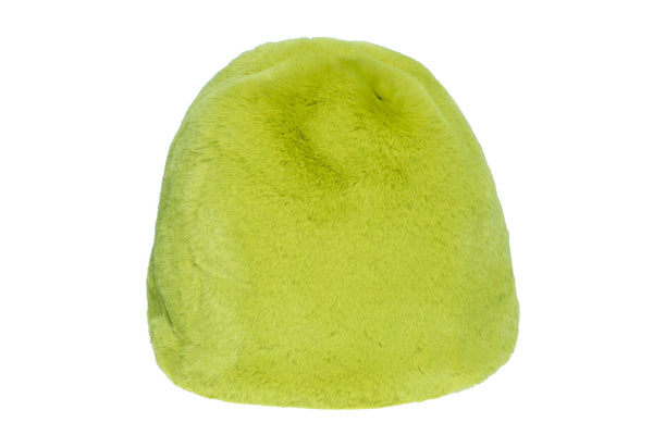 Fur Toque in Moss - CLYDE