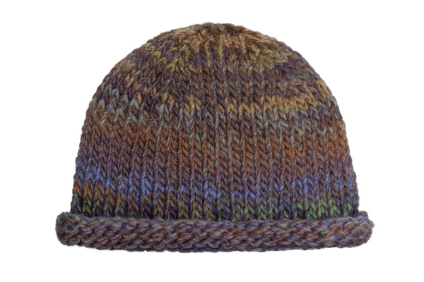 Tommy Hat in Purple | Brown | Green - CLYDE
