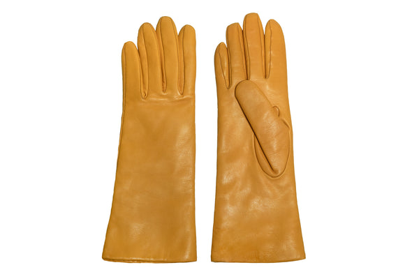 Classic Gloves in Deerskin Yellow - CLYDE
