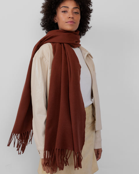 Albion Scarf in Russet - CLYDE