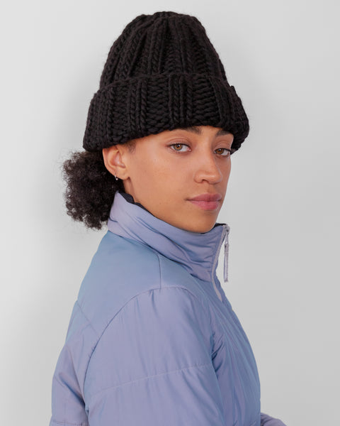 Fold Hat in Black - CLYDE