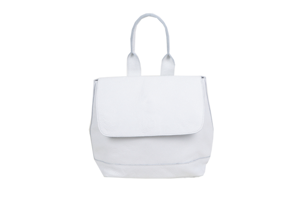 Small Room Backpack in White