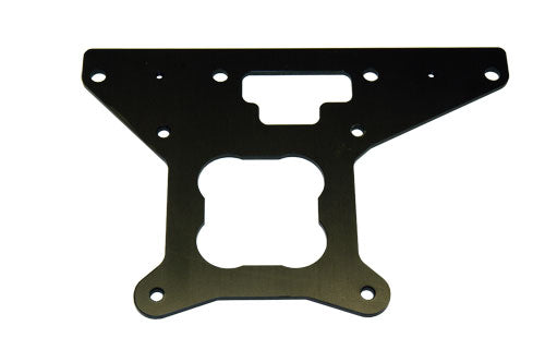 Billet 4150 Standard Holley Regulator/Throttle Cable Bracket