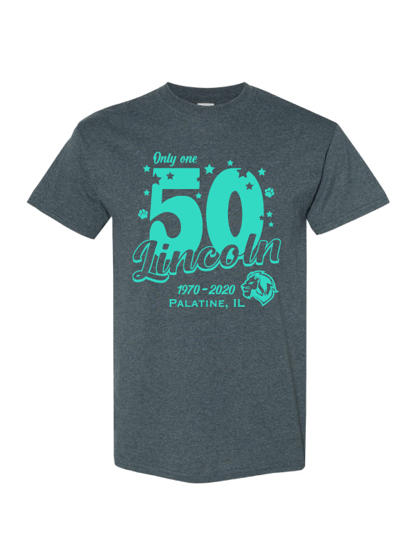 Lincoln School 50th Anniversary Tee