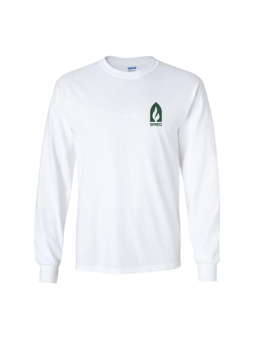 SPRED  Dri Blend Cotton Tee- Long Sleeve