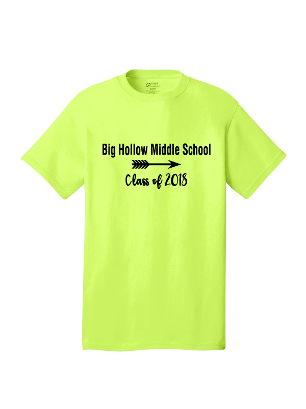 Big Hollow Class of 2018 T-Shirt
