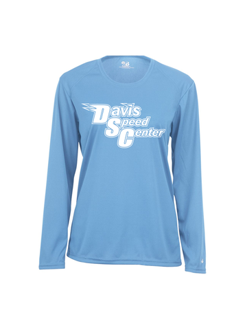 DAVIS SPEED LADIES PERFORMANCE LONG SLEEVE T-SHIRT