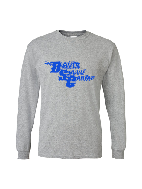 DAVIS SPEED LONG SLEEVE COTTON BLEND TSHIRT