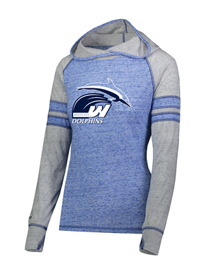 Woodstock Dolphins Girls and Ladies Advocate Hoodie