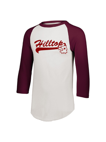 Hilltop Youth & Adult Unisex 3/4 Sleeve Tee