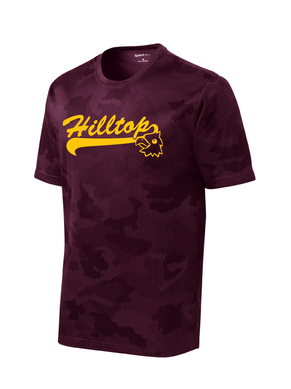 Hilltop Youth & Adult Camo Hex Performance Tee