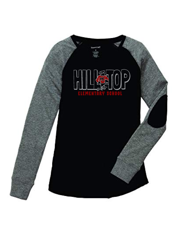 Hilltop Girls & Ladies Preppy Patch Tee