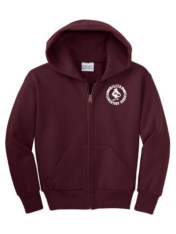 Hilltop Youth Full Zip Hoodie