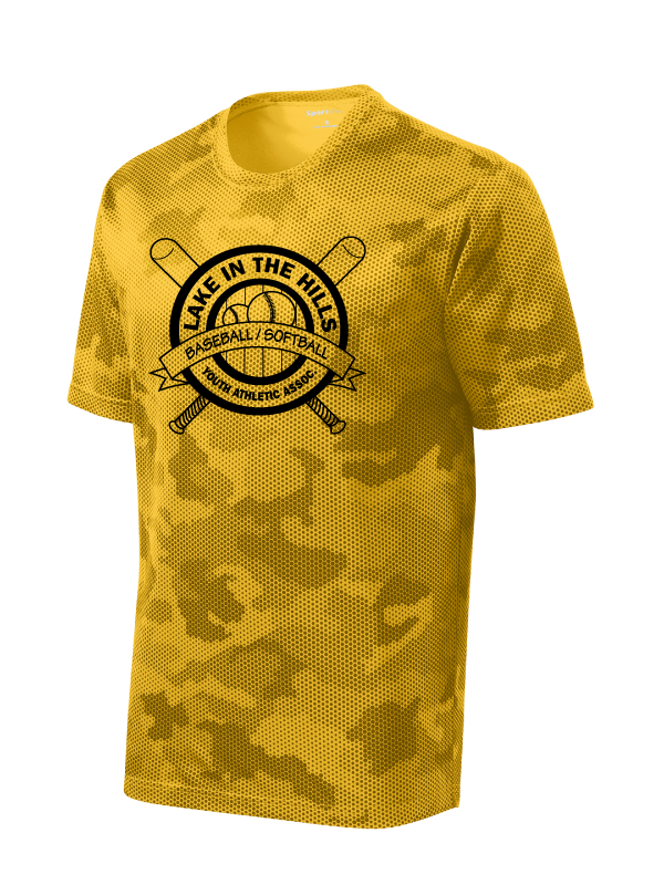 LITHYAA Youth & Adult CamoHex Performance Tee (Multiple Colors Available)