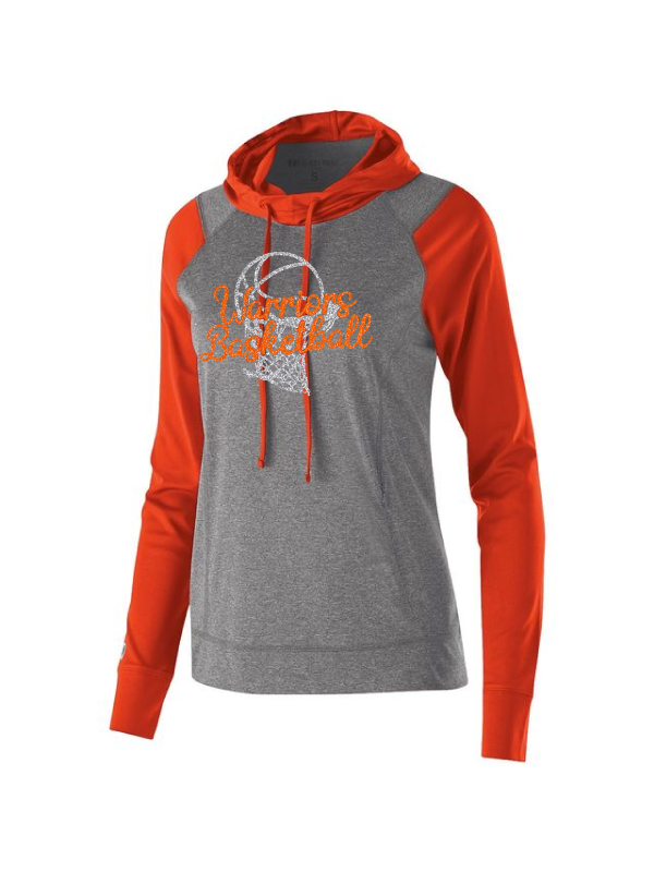 Warriors Basketball Ladies Echo Scuba Hoodie #1