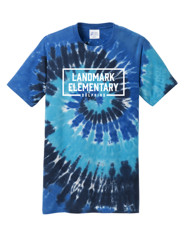 Landmark Youth and Adult Tie Dye Tee