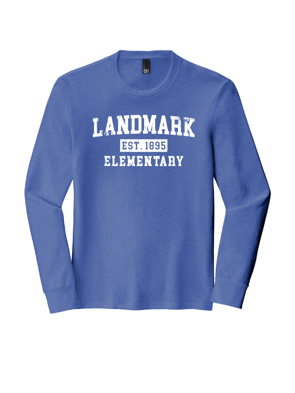 Landmark Men's Triblend Long Sleeve Tee