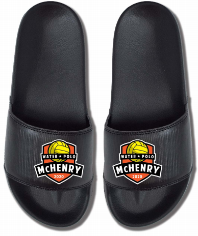 MCHS Water Polo Men's Custom Slides