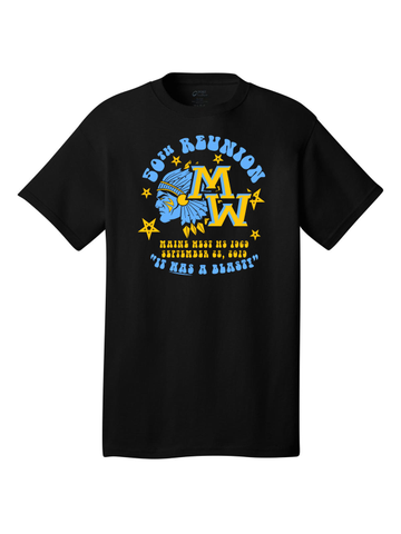 Maine West 50th Reunion Funky Men's Tee