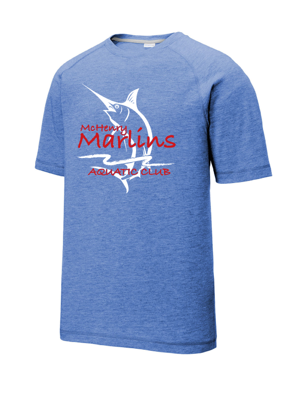 Marlins Youth & Adult Triblend Wicking Raglan Tee