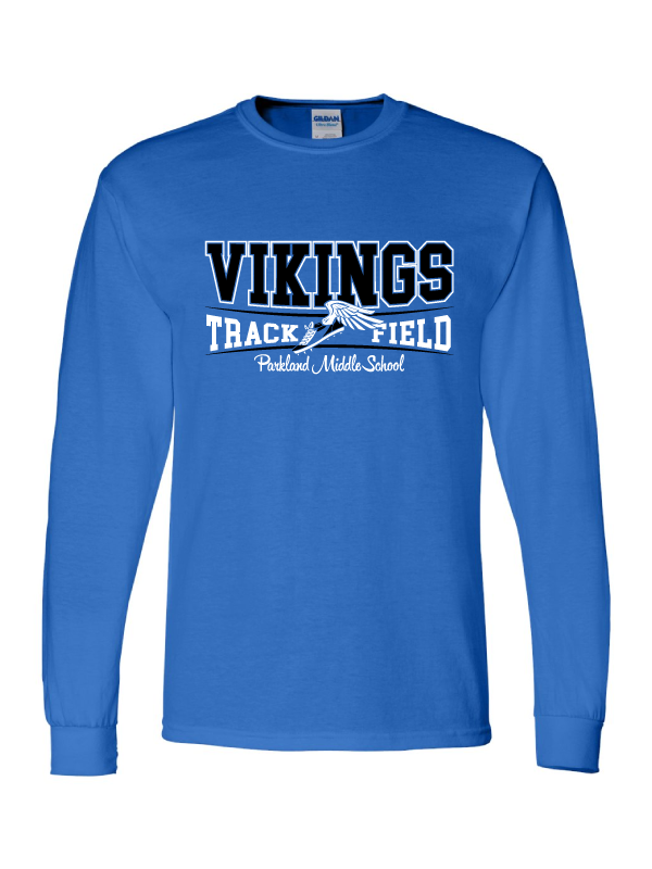 Parkland Track & Field Youth & Adult Long Sleeve Tee